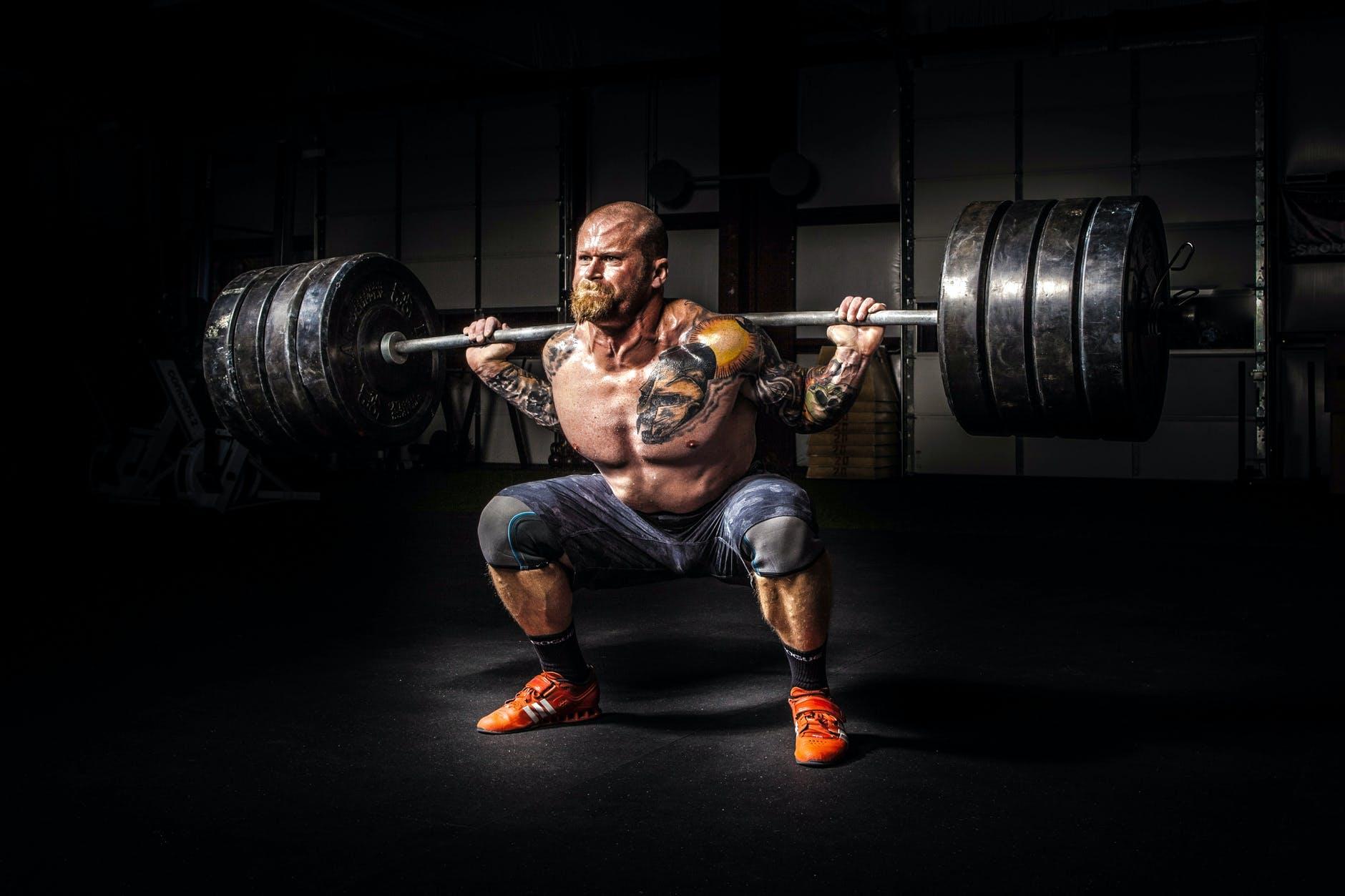 back squat crossfit