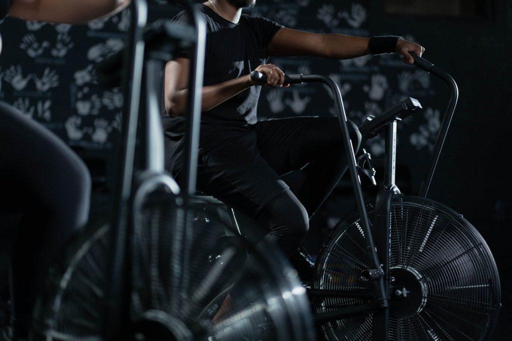 bicicleta de crossfit